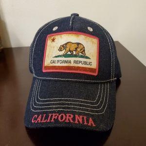 NWT California Republic Dark Washed Denim Hat